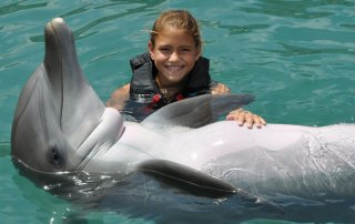dolphin-and-girl