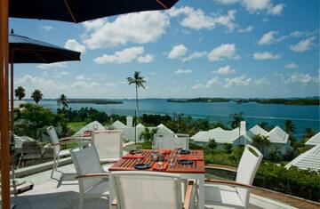 LVG at Dining Bermuda