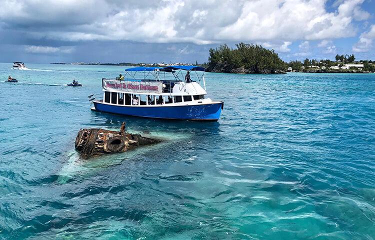 Glassbottom and Snorkel - Captain Kirk's Coral Reef Adventures Bermuda