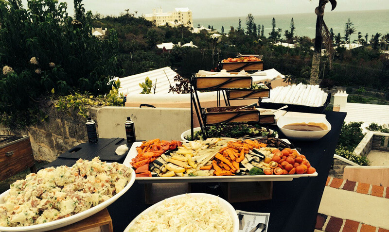 Bermuda wedding catering irg catering irg catering junglespirit Choice Image