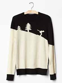 GAP - SKI SWEATER