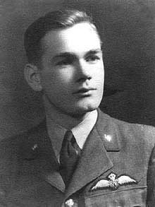 Geoffrey Osborn in the RAF.
