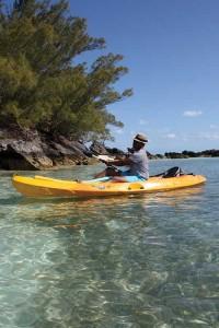 Bermuda-Kyaking