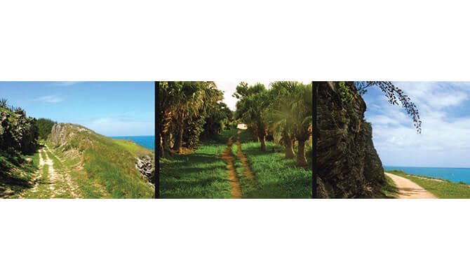 "Bermuda Historical Stories: Walk the ""Trail"", by Land and Sea"