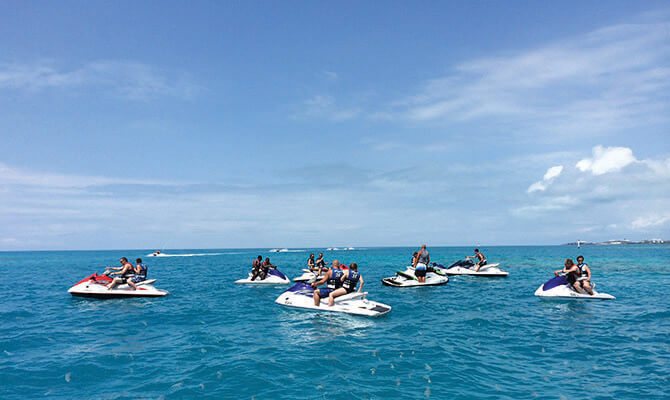 Ten Ways  to Ride Bermuda Waves