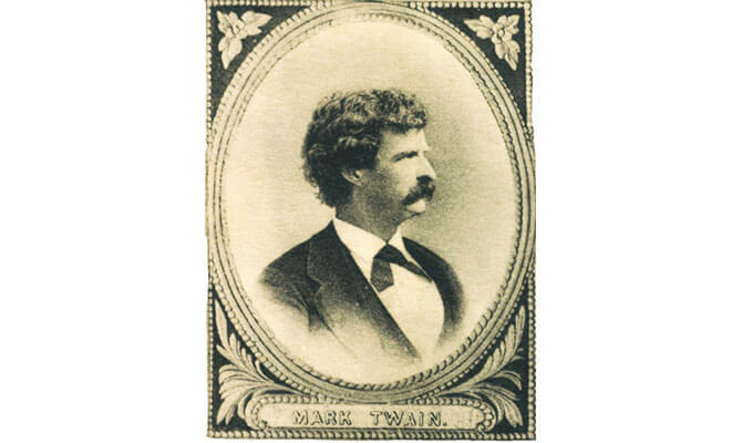 Do you know about Mark Twain's 8 trips to Bermuda