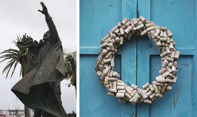 Bermuda Statue and Cork Reef