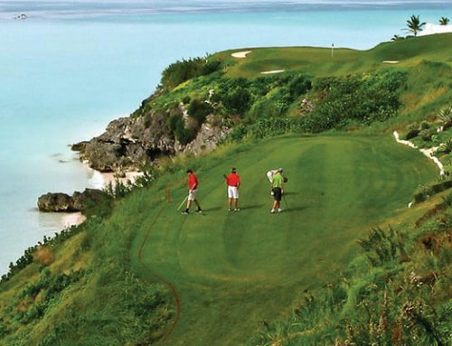 At Port Royal Golf Course, watch out for the beautiful ocean