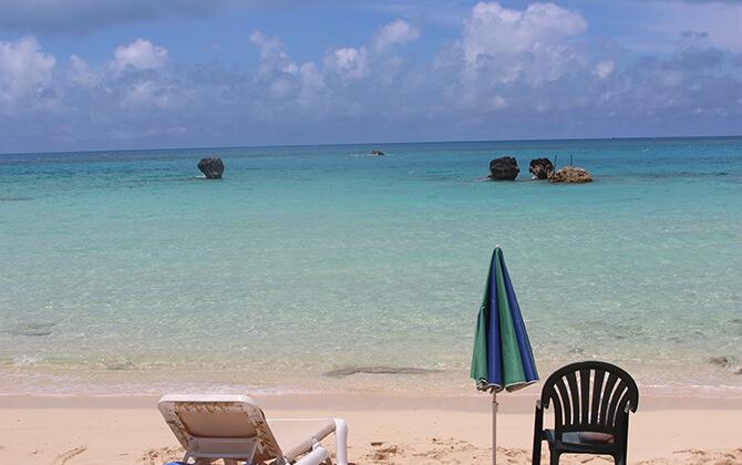 Achille's Bar Beach