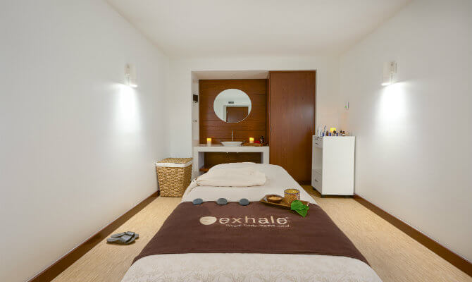 Exhale – The New Mind Body Spa & Fitness Centre at the Pink Palace
