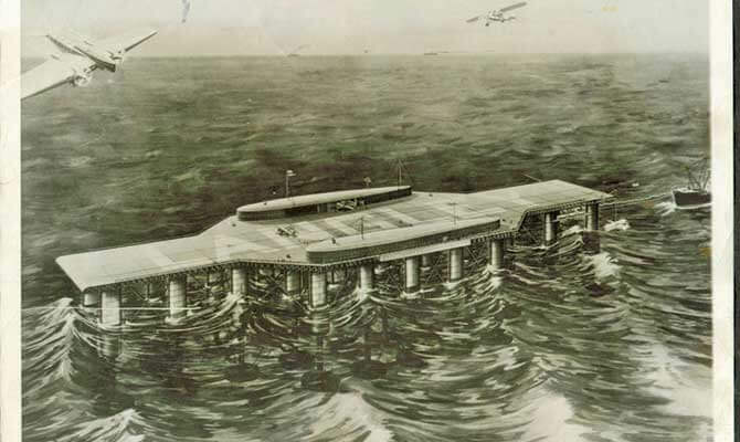 Do you know…about the proposed floating airport in 1929?