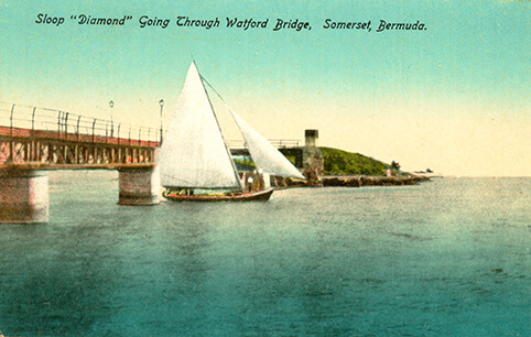 Freight Sloop Diamond c 1910