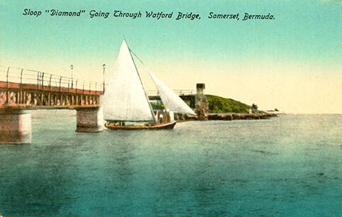 Freight Sloop Diamond c 1910
