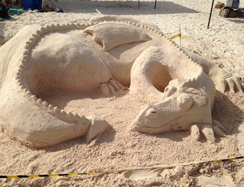 Bermuda Sand Sculpture Competition with Hannah Emmerson