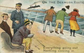 Travelling to Bermuda by ship