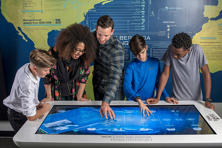 The Bermuda Triangle : Unlock the secrets at BUEI's Ocean Discovery Centre
