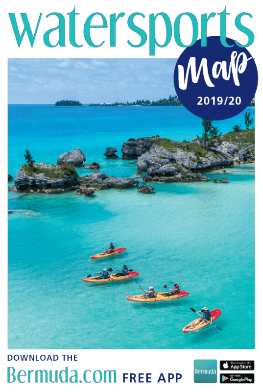 Bermuda.com Maps of the Island, Shopping Map, Watersports Map